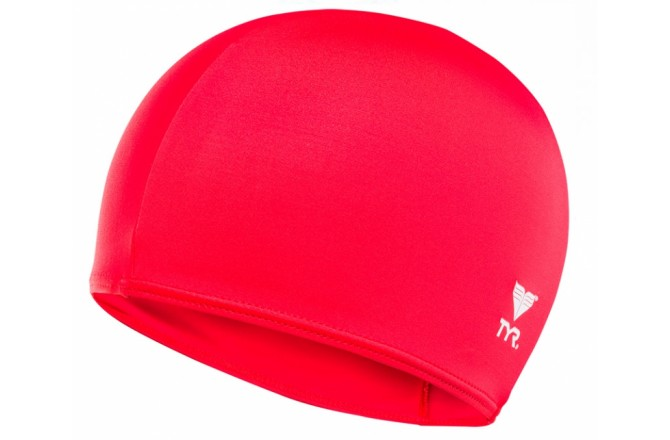 TYR Solid Lycra Cap / Шапочка для плавания  красная, Шапочки - в интернет магазине спортивных товаров Tri-sport!