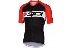 Sidi Castelli Dino / Майка с коротким рукавом (черно/красная), Джерси - в интернет магазине спортивных товаров Tri-sport!