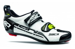 Велотуфли SIDI T-4 AIR CARBON COMP белый/черный, Велотуфли для триатлона - в интернет магазине спортивных товаров Tri-sport!