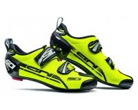 SIDI T-4 AIR CARBON COMP желтый флюо/черный / Велотуфли для триатлона
