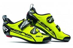 Велотуфли SIDI T-4 AIR CARBON COMP желтый флюо/черный, Велотуфли для триатлона - в интернет магазине спортивных товаров Tri-sport!