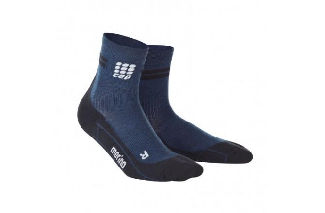 CEP Merino Short Socks / Мужские укороченные гольфы, с шерстью мериноса, Утепленные - в интернет магазине спортивных товаров Tri-sport!