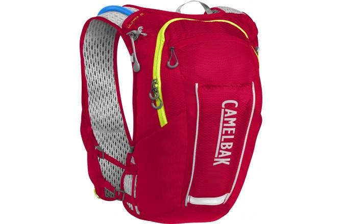 Camelbak Ultra™ 10 Vest Crimson Red/Lime Punch,10л / Жилет, Рюкзаки и сумки - в интернет магазине спортивных товаров Tri-sport!
