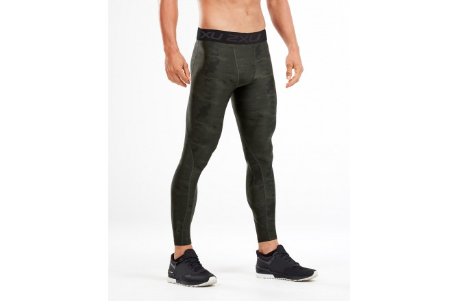 2XU Accelerate Print Compr Tights / Мужское компрессионное трико, Компрессионные шорты и тайтсы - в интернет магазине спортивных товаров Tri-sport!