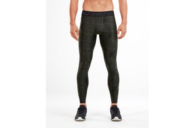 2XU Accelerate Print Compr Tights / Мужское компрессионное тайтсы, Тайтсы - в интернет магазине спортивных товаров Tri-sport!