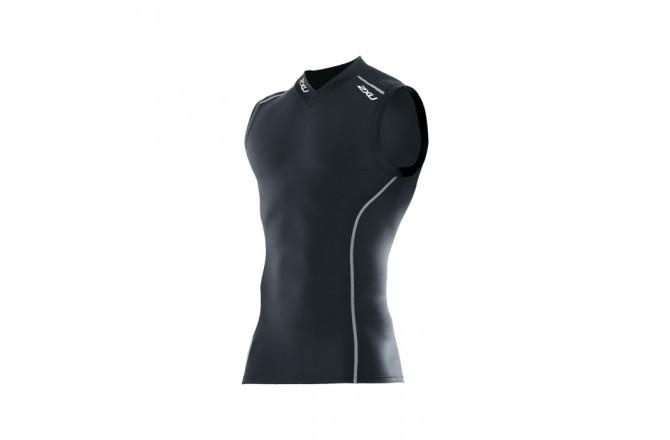 Компрессионная майка  мужская  2XU Men's Compression Top S/less, Компрессионные футболки - в интернет магазине спортивных товаров Tri-sport!