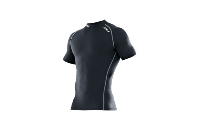Компрессионная футболка 2XU Men's Compression Top S/S, Футболки, майки, топы - в интернет магазине спортивных товаров Tri-sport!