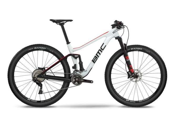 BMC Agonist 02 ONE white/black/red 2018 / Велосипед MTB, Двухподвесы - в интернет магазине спортивных товаров Tri-sport!