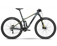 BMC Agonist 02 TWO grey/black/yellow Deore /XT 2018 / Велосипед MTB