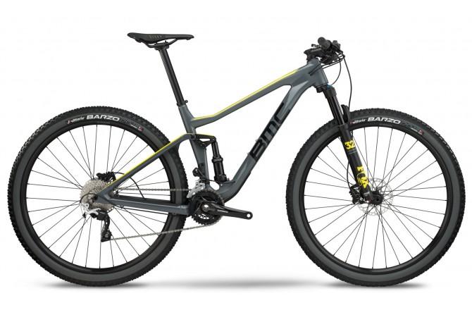 BMC Agonist 02 TWO grey/black/yellow Deore /XT 2018 / Велосипед MTB, Двухподвесы - в интернет магазине спортивных товаров Tri-sport!