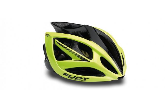 Rudy Project Airstorm Yellow Fluo/Black Matt S-M / Шлем, Шлемы шоссейные - в интернет магазине спортивных товаров Tri-sport!