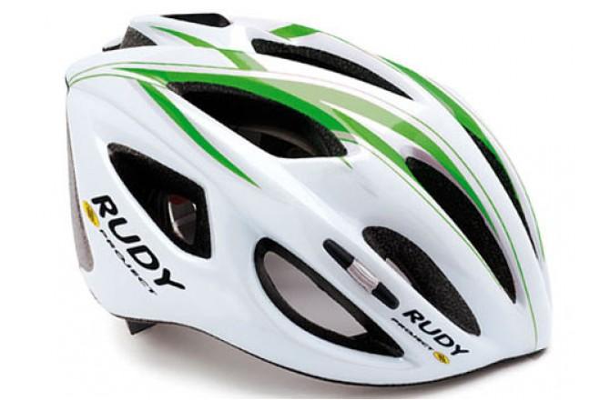 Каска RP SLINGER WHITE/GREEN L, Шлемы - в интернет магазине спортивных товаров Tri-sport!