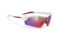 Очки Rudy Project REVENGE WHITE GLOSS-MLS RED RUBBER, Оптика - в интернет магазине спортивных товаров Tri-sport!