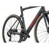 BMC Teammachine SLR01 Disc ONE Grey/red/carbon DURA ACE Di2 2019 / Шоссейный велосипед, Шоссейные - в интернет магазине спортивных товаров Tri-sport!