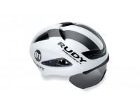 Rudy Project Boost 01 + Визор  White - Graphite Matt S/M / Шлем