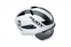 Rudy Project Boost 01 + Визор  White - Graphite Matt S/M / Шлем, Шлемы для триатлона - в интернет магазине спортивных товаров Tri-sport!