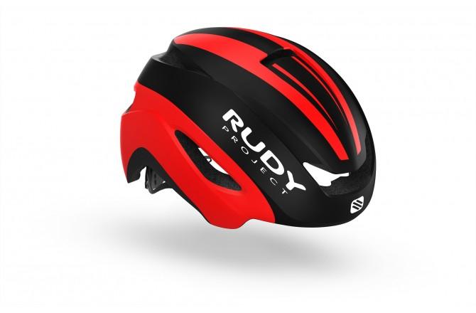 Rudy Project Volantis Black-Red Matt S-M / Шлем, Шлемы шоссейные - в интернет магазине спортивных товаров Tri-sport!