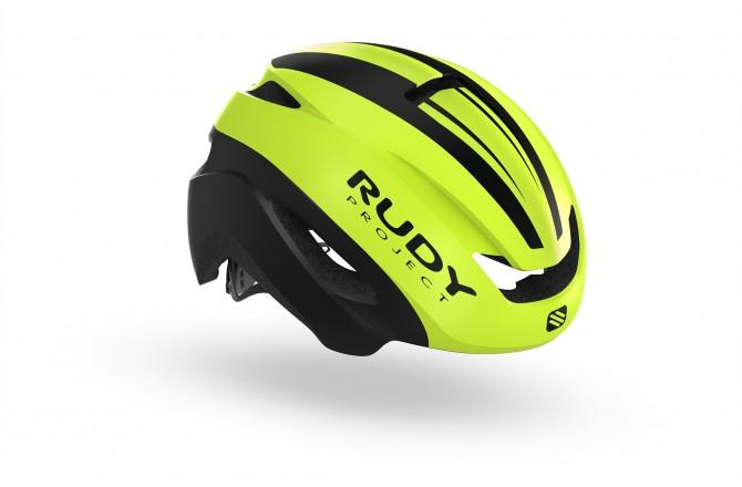 Rudy Project Volantis Yellow Fluo - Black Matt L / Шлем, Шлемы шоссейные - в интернет магазине спортивных товаров Tri-sport!