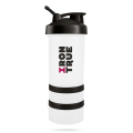 IRONTRUE Black- White 500ml / Шейкер