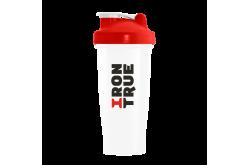 IRONTRUE Red - White 600ml / Шейкер, Шейкеры - в интернет магазине спортивных товаров Tri-sport!