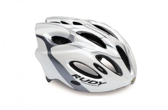 Rudy Project SNUGGY WHITE/TITAN/SILVER SHINY L, Шлемы - в интернет магазине спортивных товаров Tri-sport!