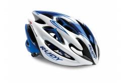 Каска Rudy Project STERLING RD WHITE/BLUE SHINE L, Шлемы - в интернет магазине спортивных товаров Tri-sport!