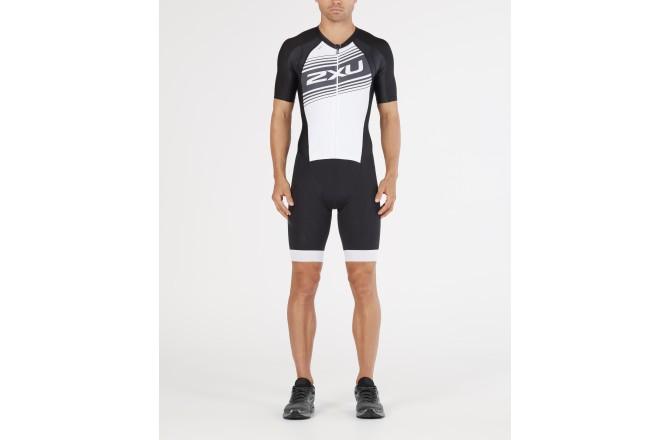 2XU Comp Full Zip Sleeved Trisuit Men SS 2018/ Стартовый костюм, Стартовые костюмы - в интернет магазине спортивных товаров Tri-sport!