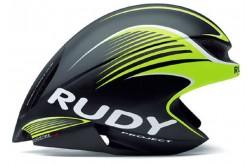 Rudy Project WING57 BLACK/LIME FLUO MATT L / Каска, Одежда - в интернет магазине спортивных товаров Tri-sport!