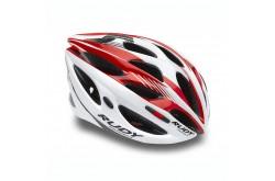 Каска Rudy Project ZUMAX WHITE/RED SHINY L, Шлемы - в интернет магазине спортивных товаров Tri-sport!