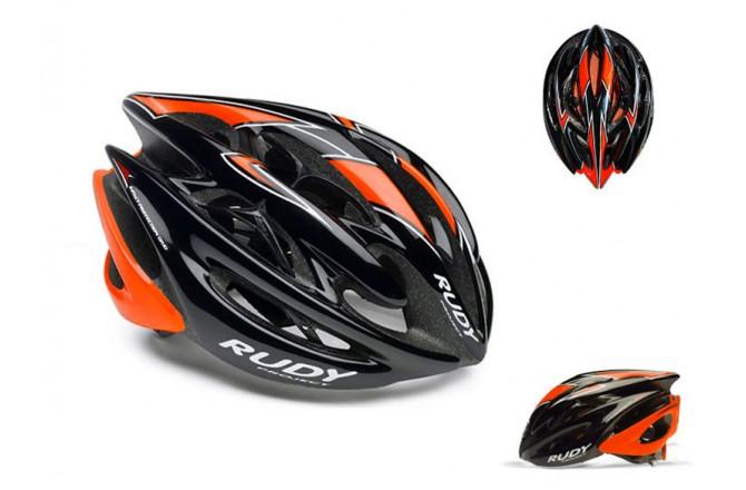 Каска RP STERLING BLK/ORA FLU/WHITE SHINY L, Шлемы - в интернет магазине спортивных товаров Tri-sport!
