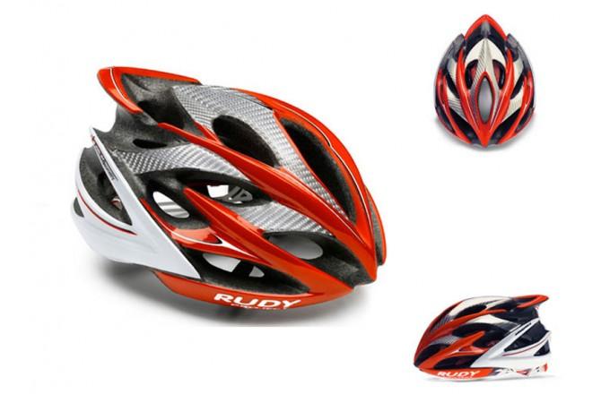 Каска RP WINDMAX WHITE/SILVER/RED SHINY S/M, Шлемы - в интернет магазине спортивных товаров Tri-sport!
