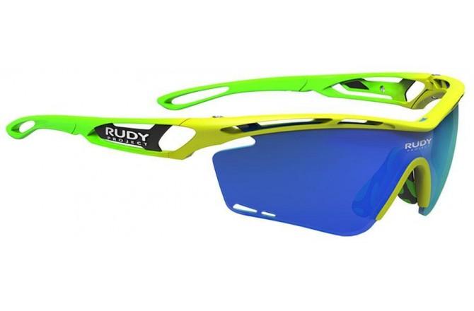 Rudy Project Tralyx Fade Racing Pro Yellow Fluo Gloss - Mls Blue / Очки, Очки - в интернет магазине спортивных товаров Tri-sport!