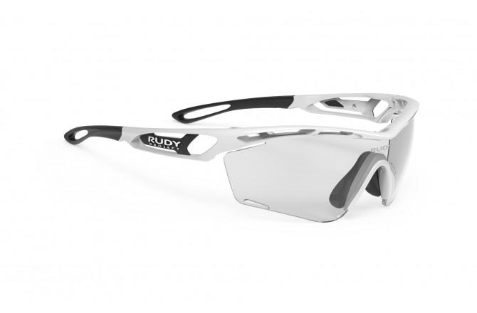Rudy Project Tralyx Slim White Gloss - Impxt Photochromic 2 Black / Очки, Очки - в интернет магазине спортивных товаров Tri-sport!