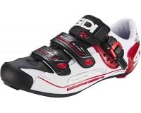 Велотуфли SIDI GENIUS 7 белый/черный/красный