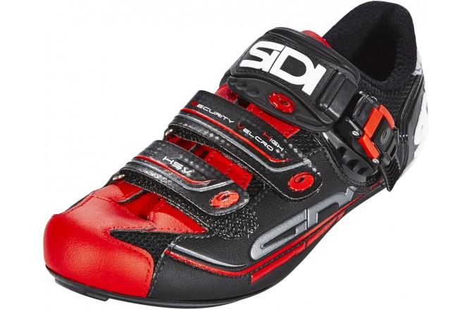 Велотуфли SIDI GENIUS 7 черный/красный, Для шоссе - в интернет магазине спортивных товаров Tri-sport!