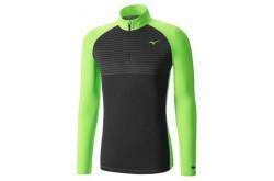 Mizuno BREATH THERMO Body Mapping HZ / Рубашка беговая мужская, Утепленные футболки - в интернет магазине спортивных товаров Tri-sport!