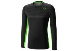 MIZUNO BREATH THERMO Body Mapping Crew / Рубашка беговая мужская, Утепленные футболки - в интернет магазине спортивных товаров Tri-sport!