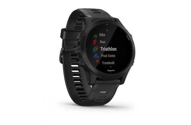 Garmin Forerunner 945 Черные / Смарт-часы беговые с GPS, HR, музыкой и бесконтактными платежами, Пульсометры - в интернет магазине спортивных товаров Tri-sport!