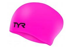 TYR Long Hair Wrinkle-Free Silicone Cap / Шапочка для длинных волос силиконовая, Шапочки - в интернет магазине спортивных товаров Tri-sport!