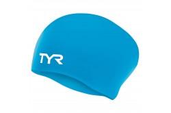 TYR Long Hair Wrinkle Free Silicone Cap / Шапочка силиконовая для длинных волос, Шапочки - в интернет магазине спортивных товаров Tri-sport!