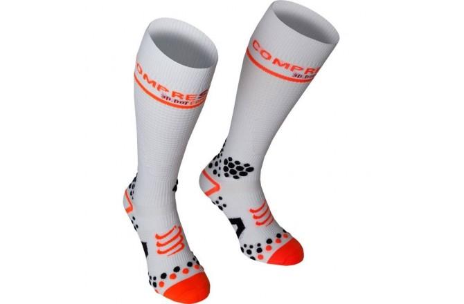 Compressport Full Socks V2 / ГОЛЬФЫ, Компрессионные гольфы, гетры и носки - в интернет магазине спортивных товаров Tri-sport!