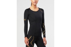 2XU Женская компрессионная футболка с длинным рукавом, Тайтсы - в интернет магазине спортивных товаров Tri-sport!