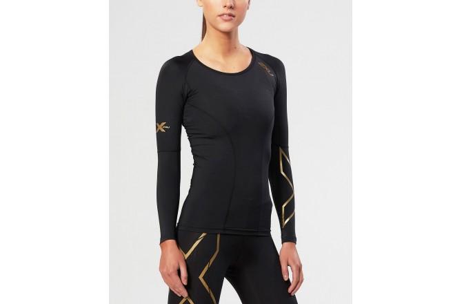 2XU Женская компрессионная футболка с длинным рукавом, Футболки и кофты - в интернет магазине спортивных товаров Tri-sport!