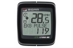 SIGMA BC 1706HR DTS / Велокомпьютер, Велокомпьютеры - в интернет магазине спортивных товаров Tri-sport!