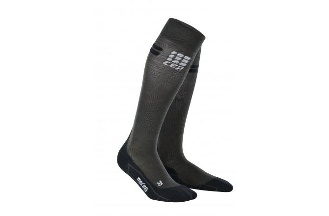 CEP Merino Socks / Мужские компрессионные гольфы, с шерстью мериноса, Компрессионные гольфы и гетры - в интернет магазине спортивных товаров Tri-sport!