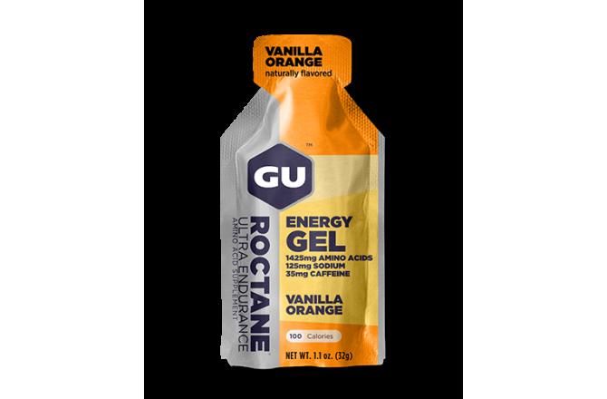GU Roctane Gel ваниль-апельсин / Гель энергетический, Гели - в интернет магазине спортивных товаров Tri-sport!