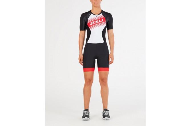 2XU Compression Sleeved Trisuit / Женский стартовый костюм с рукавами, Стартовые костюмы - в интернет магазине спортивных товаров Tri-sport!