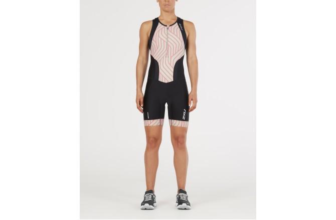 2XU Perform Front Zip Trisuit W`s SS 2018/ Стартовый костюм женский, Стартовые костюмы - в интернет магазине спортивных товаров Tri-sport!