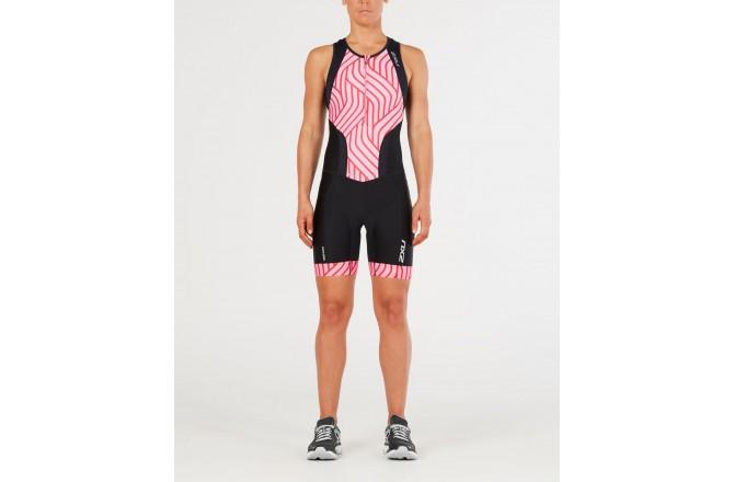 2XU Perform FrontZip Trisuit SS / Женский стартовый костюм без рукавов, Стартовые костюмы - в интернет магазине спортивных товаров Tri-sport!
