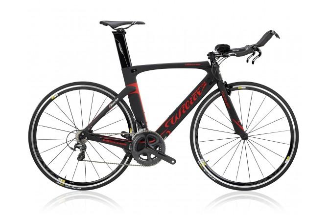 Wilier Blade Crono'17 Ultegra Di2 WHRS010 черн./красный / Велосипед для триатлона, Для триатлона - в интернет магазине спортивных товаров Tri-sport!